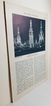 image of Article: New York's City of Play - Luna Park, Coney Island Etc.  An  Incomplete Article of 8 Pages with 10 Photos