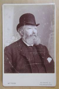 Cabinet Photograph: Portrait of a Man with a Beard & Bowler Hat.