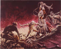 image of The Beastmaster (Collection of five original photographs of conceptual illustrations for the 1982 film)