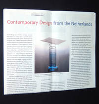 Thresholds: Contemporary Design from the Netherlands, June 27 - November 5, 1996