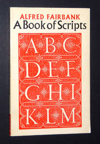 A Book of Scripts by Fairbank, Alfred - 1977