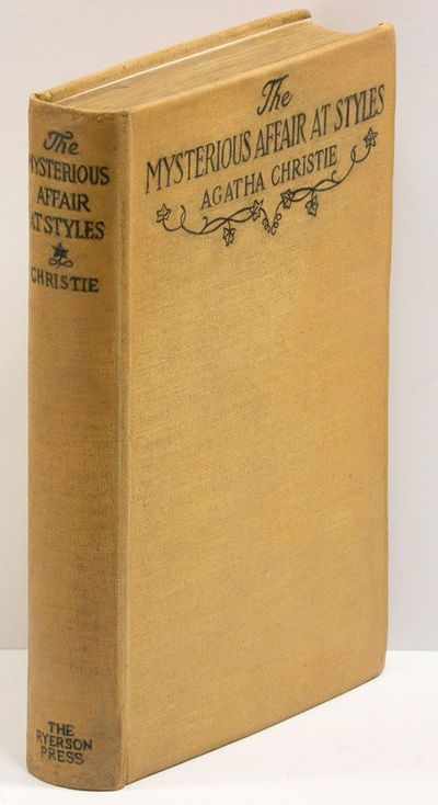 Toronto: The Ryerson Press, 1920. First Canadian edition of the AUTHOR'S FIRST BOOK and first to fea...