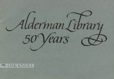 n.p.: (University of Virginia, 1988. stiff paper wrappers. Alderman Library. oblong 12mo. stiff pape...