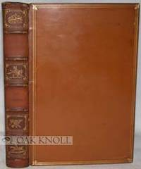 London: Bradbury, Agnew, & Co, 1882. full brown calf (by Root & Son London), five raised bands, spor...