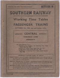 Working Time Tables of Passenger Trains London Central Division Suburban Lines Section B October...