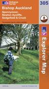 image of Bishop Auckland: Spennymoor and Newtown (Explorer Maps) (OS Explorer Map)