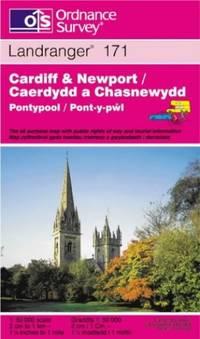 image of Cardiff and Newport, Pontypool (Landranger Maps)