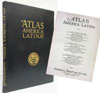 ATLAS AMERICA LATINA A Geographic, Economic and Commercial Atlas of  Mexico, Central America, West Indies and South America.