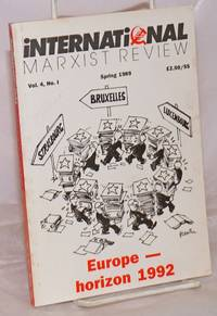 image of International Marxist Review 1989,  Spring, Vol. 4, No. 1