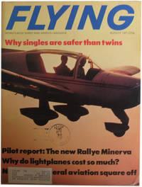 Flying Magazine. August, 1971. Vol. 89, No. 2