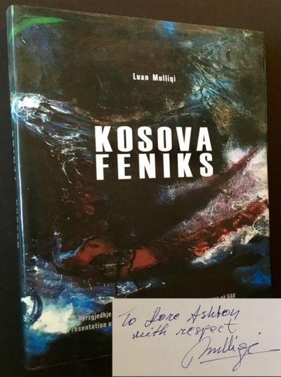 Kosova: Onufri, 2005. Cloth. Fine/Fine. INSCRIBED BY THE AUTHOR LUAN MULLIQI TO RENOWNED ART CRITIC ...