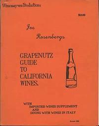 Grapenutz Guide to California Wines