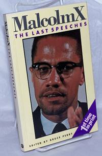 image of The last speeches; edited by Bruce Perry