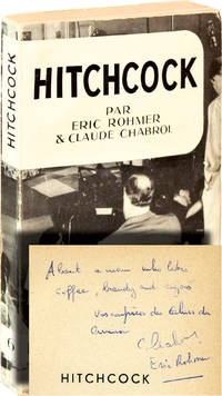 image of Hitchcock (First French Edition, inscribed by Rohmer and Chabrol)