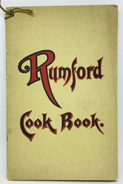 Providence, R.I. : Department of Home Economics of the Rumford Company. Staplebound wraps. Brown ill...