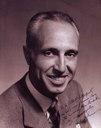 Autographed Photo portrait of Richard Willard Armour (1906-1989)
