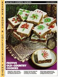 image of McCall's Cooking School Recipe Card: Cakes, Cookies 16 - Nathan's  Lebkuchen : Replacement McCall's Recipage or Recipe Card For 3-Ring  Binders : McCall's Cooking School Cookbook Series
