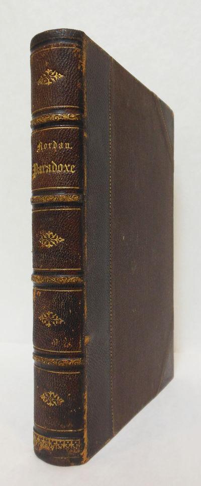 Leipzig: Verlag von B. Glischer, 1885. ,414pp. Contemporary three quarter calf, gilt. Ink name, mino...