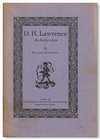 D.H. LAWRENCE AN INDISCRETION