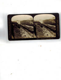 "image of The ""Perfec"" Stereograph : ""Work Trains in the Great Culebra Cut, hauling dirt to the dumping grounds, Panama Canal"" No. 11526"