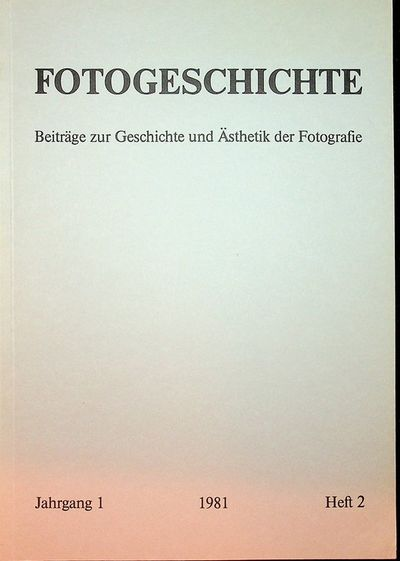Frankfurt: Timm Starl, 1981. First Edition. Wraps. Near Fine. First Edition. 84, pages. Printed grey...