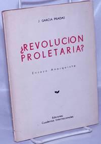 image of ¿Revolucion Proletaria? Ensayo Anarquista