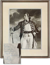 image of That Hamilton Woman (Original photograph of Lawrence Olivier from the 1941 film, inscribed by Olivier in 1958)
