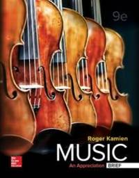 image of Music: An Appreciation, Brief Edition