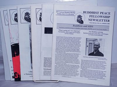 Berkeley: Buddhist Peace Fellowship, 1990. Magazine. Six issues, 47pp., 8.5x11 inches, issues includ...