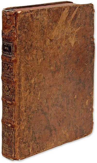 1700. Handsome Manuscript Copy of the Coutume de Paris . . Coutume de la Prevoste et Vicomte de Pari...