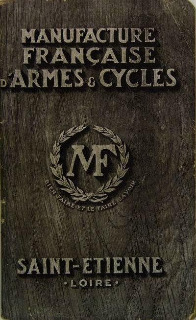 Manufrance manufacture fran aise d armes cycles 1927 for Miroir aux alouettes