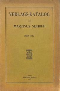 Fondscatalogus 1853-1913. by  MARTINUS - THE HAGUE NIJHOFF - from Frits Knuf Antiquarian Books (SKU: 53154)
