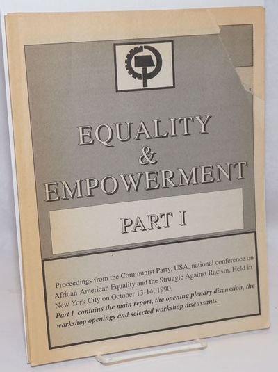 New York: Communist Party USA, 1990. Two 8.5x11 inch pamphlets, 32 and 22 pages respectively, corner...