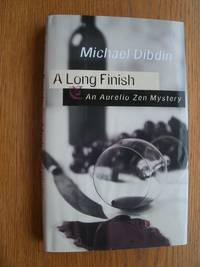 A Long Finish by  Michael Dibdin - First Canada edition first printing - 1998 - from Scene of the Crime Books, IOBA (SKU: biblio11417)