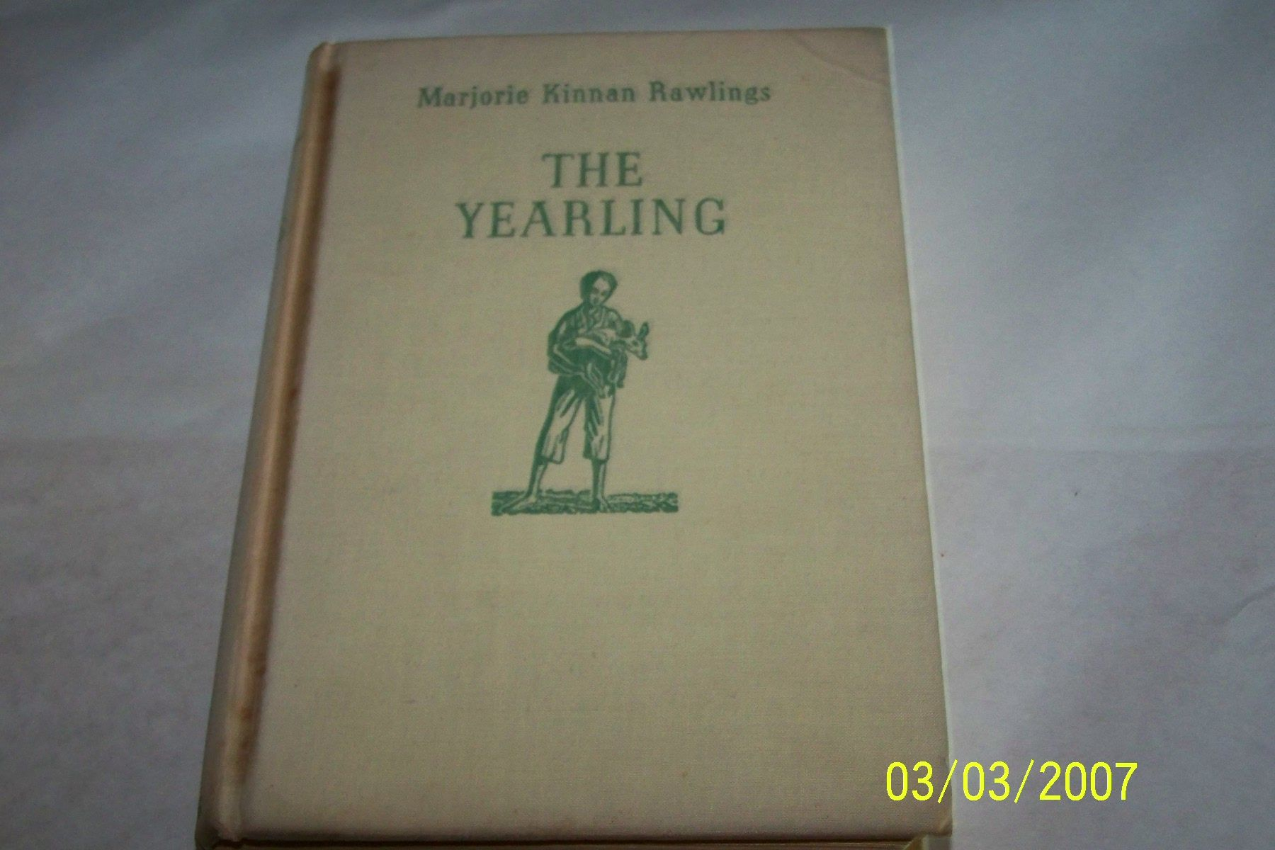 The Yearling Book synopsis