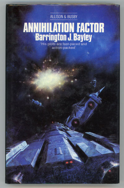 London: Allison & Busby, 1979. Octavo, boards. First hardcover edition. A novel expanded from Bayley...