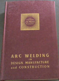 image of ARC Welding in Design, Manufacture and Construction