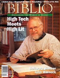 BIBLIO: Exploring the World of Books Volume 3, Number 12. December 1998