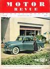 Motor Revue Europa - Motor Heft 12 Winterausgabe 1954