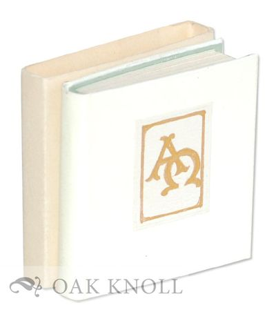 (New Britain, CT): REM Miniatures, 1971. white cloth with gold illuminated cover label, slide-on cas...
