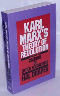 image of Karl Marx's theory of revolution. Vol. 4, Critique of Other Socialisms