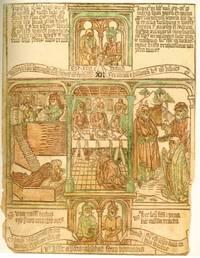 Biblia Pauperum; Faksimileausgabe des Vierzigblattrigen Armenbibel-Blockbuches in der Bibliothek der Erzdiozese Esztergom