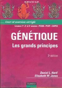 Génétique.  Les grands principes by  Elisabeth W  Daniel L.  /  JONES - Paperback - 2003 - from Librairie la bonne occasion and Biblio.com