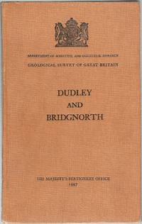 image of Memoirs of the Geological Survey of Great Britain. England and Wales. Dudley and Bridgnorth (One-Inch Geological Sheet 167, New Series)
