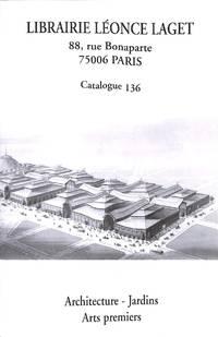 Catalogue no.136/ n.d. : Architecture, Jardins, Arts Premiers.