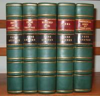 The Novels of Jane Austen : the text based on Collation of the Early Editions.with Notes Indexes and Illustrations from Contemporary Sources [ 5 volumes, complete set ]