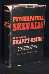 image of Psychopathia Sexualis; A Medico Forensic Study; First Unexpurgated Edition in English