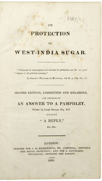 [Sammelband of 4 pamphlets relating to the sugar trade]