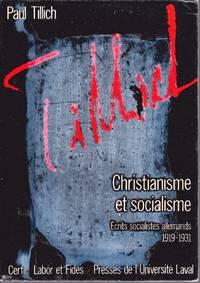 Christianisme et socialisme.  Écrits socialistes allemands, 1919-1931.