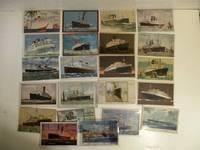 Group of 23 Original Ocean Liner Post Cards.